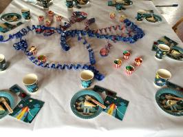 Kindergeburtstag Tisch Dekoration