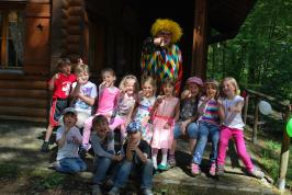Clown Muck Geburtstag abschluss Foto