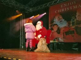 Santa Claus Bürkliplazt Zürich